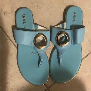 Anne Klein Flip flops